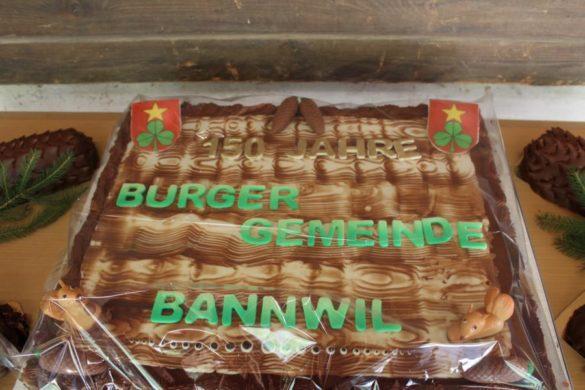 150 Jahre Burgergemeinde Bannwil