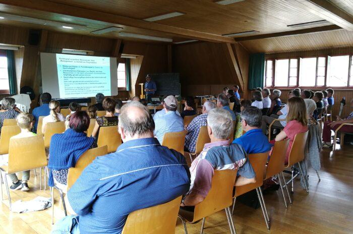 Waldtag zum Thema «Kommunal verwaltete Wälder und Weiden in der Schweiz im Wandel»